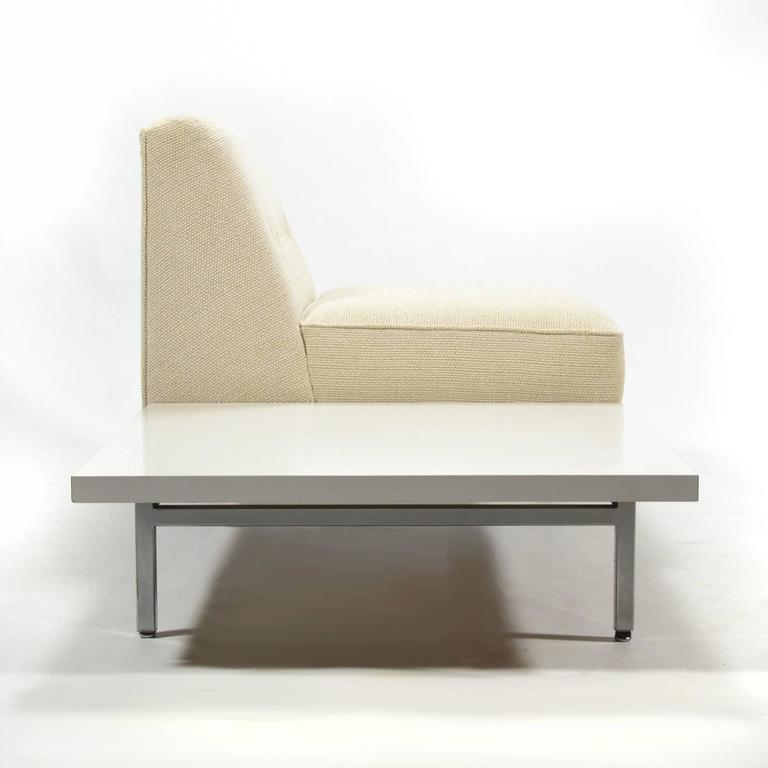 George Nelson Modular Group Seat with Table by Herman Miller 5