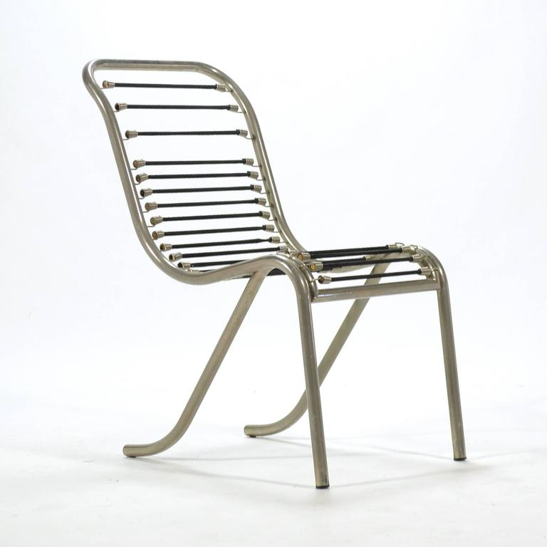 Pair of René Herbst Sandows Chairs 9