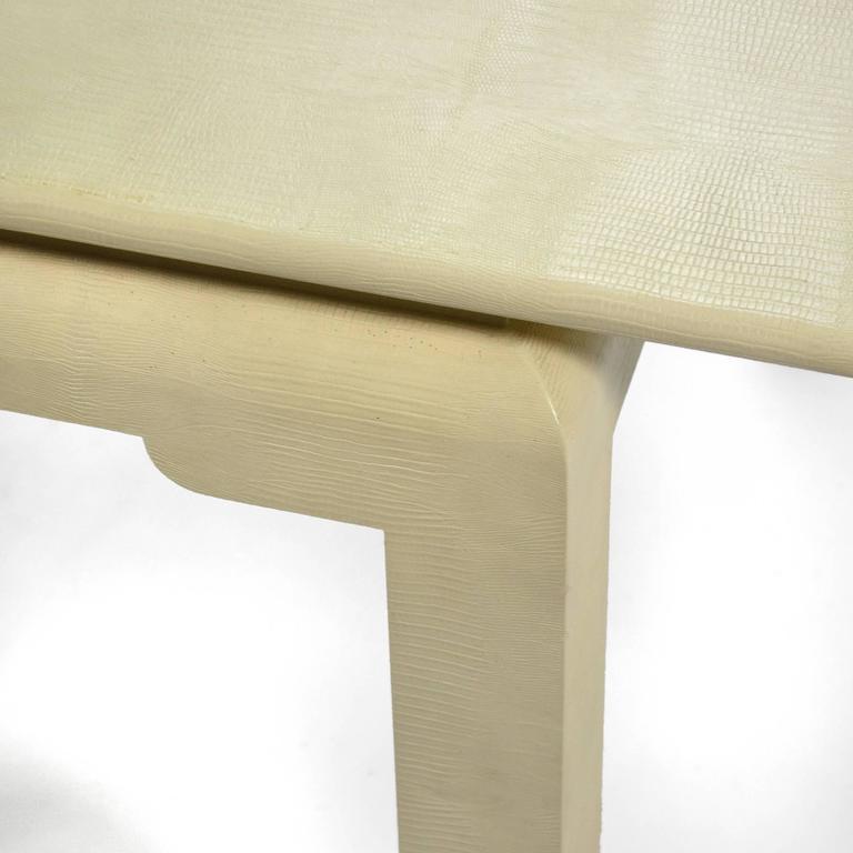 Karl Springer Flip-Top Game / Dining Table For Sale 1