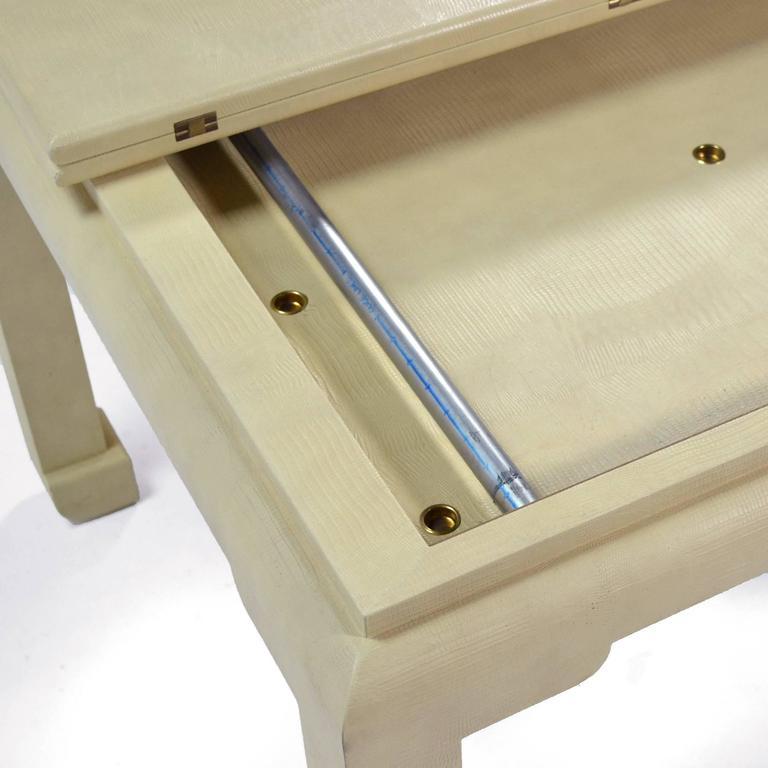 Karl Springer Flip-Top Game / Dining Table For Sale 2