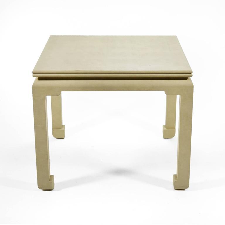 American Karl Springer Flip-Top Game / Dining Table For Sale