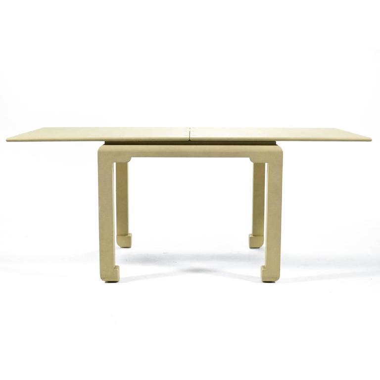 20th Century Karl Springer Flip-Top Game / Dining Table For Sale