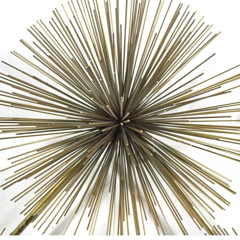 Curtis Jere Five-Burst Wall Sculpture For Sale 2