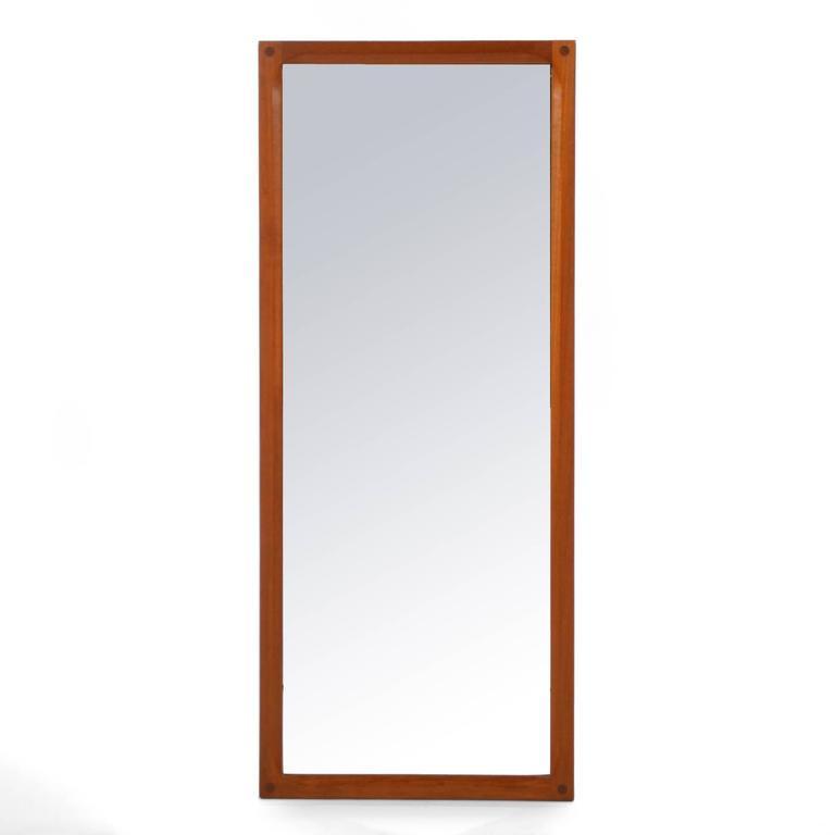 Aksel Kjersgaard Teak Mirror by Odder in Denmark 3