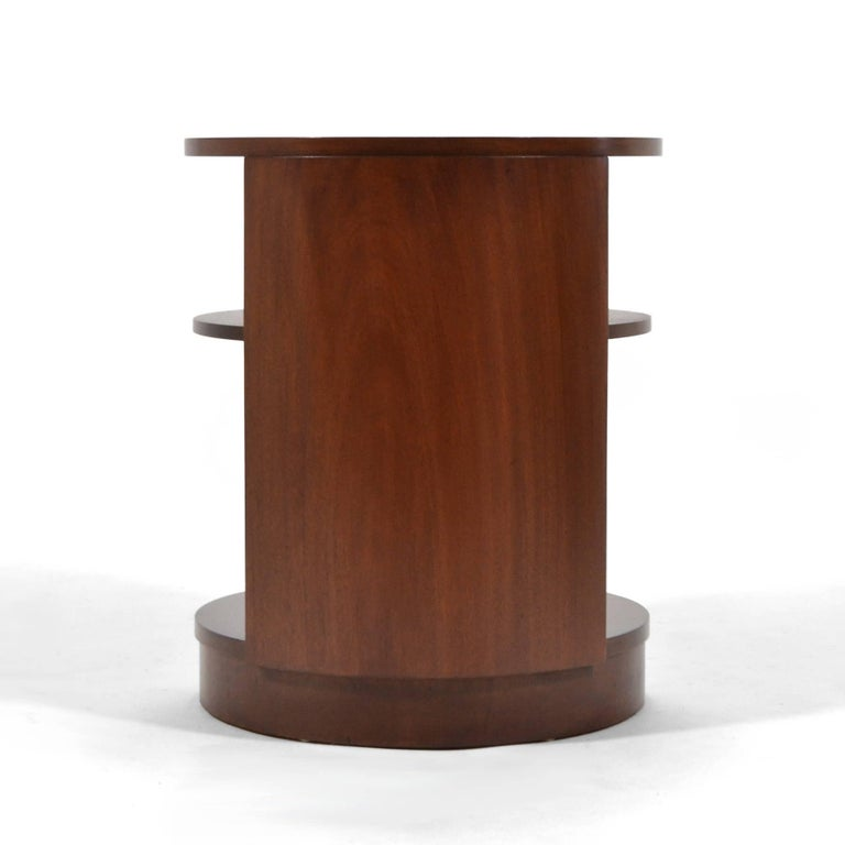 Mahogany Edward Wormley Side Table by Dunbar For Sale