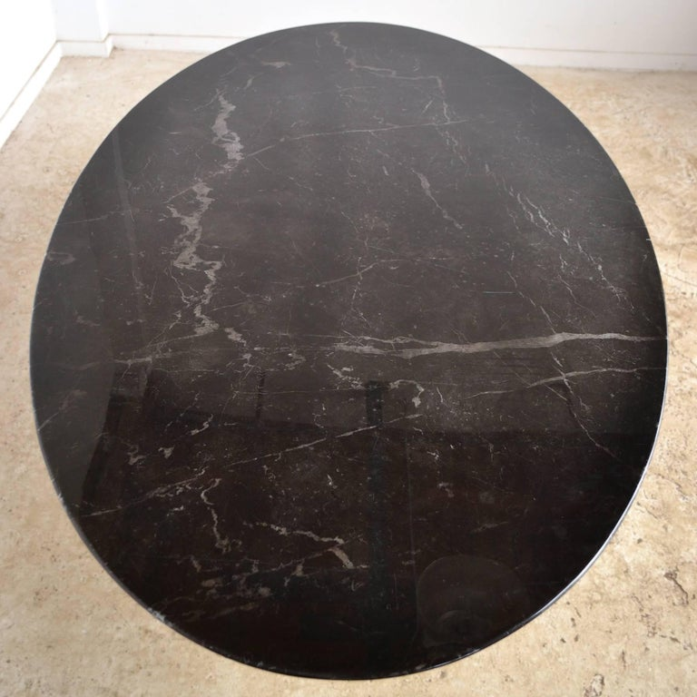 Eero Saarinen Black Marble Tulip Table by Knoll 4