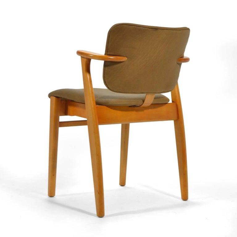 Mid-20th Century Ilmari Tapiovaara Domus Armchair For Sale