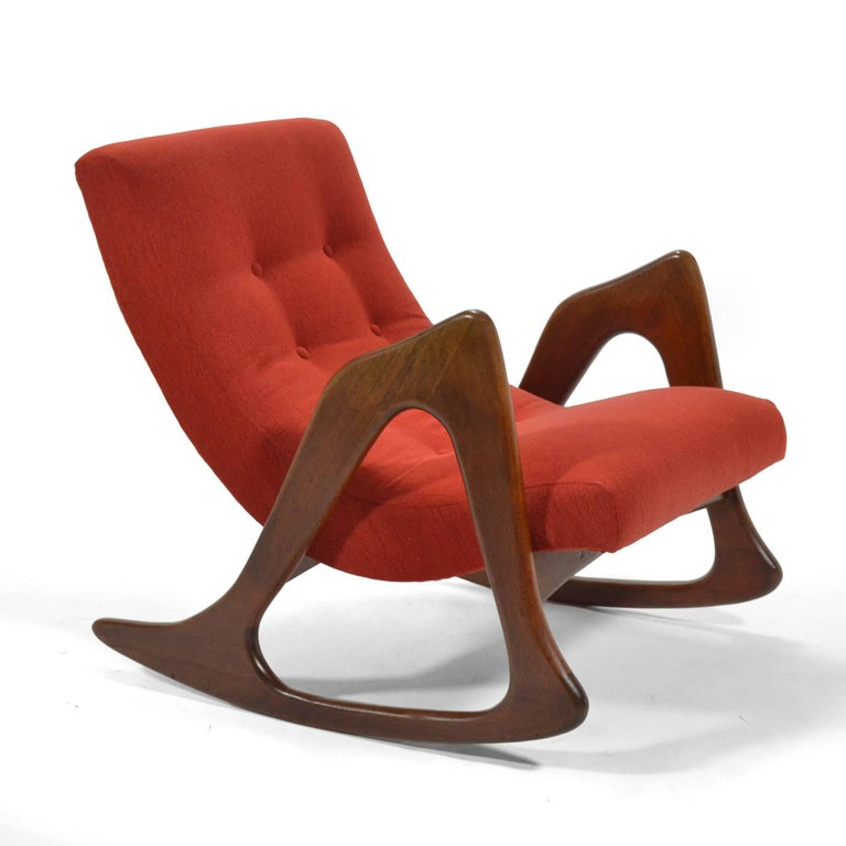 Adrian Pearsall Rocking Chair by Craft Associates 2