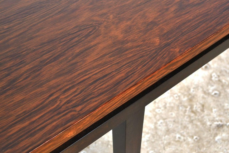 Harvey Probber Rosewood Console Table In Excellent Condition For Sale In Highland, IN