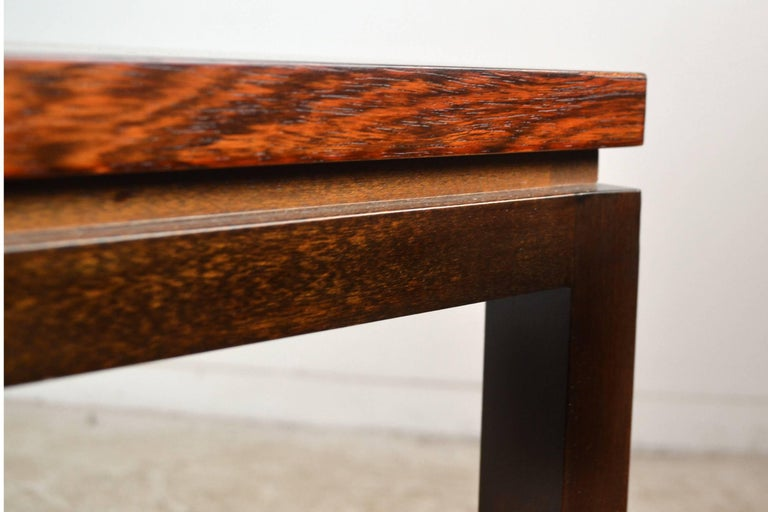 Harvey Probber Rosewood Console Table For Sale 3