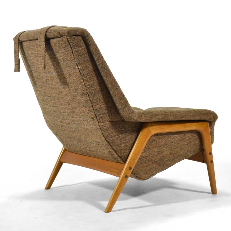 Swedish Folke Ohlsson Lounge Chair by DUX For Sale