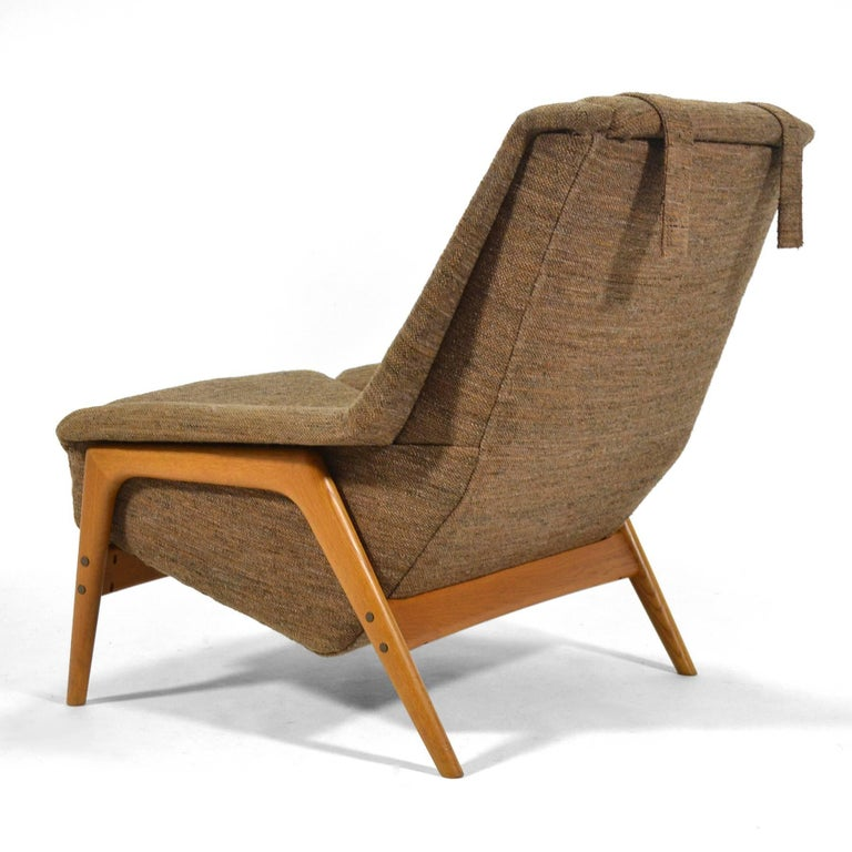 Upholstery Folke Ohlsson Lounge Chair by DUX For Sale