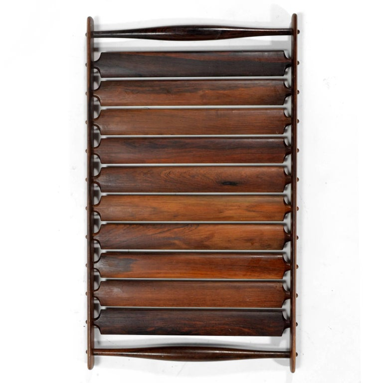 Scandinavian Modern Jens Quistgaard Rosewood Tray by Dansk For Sale