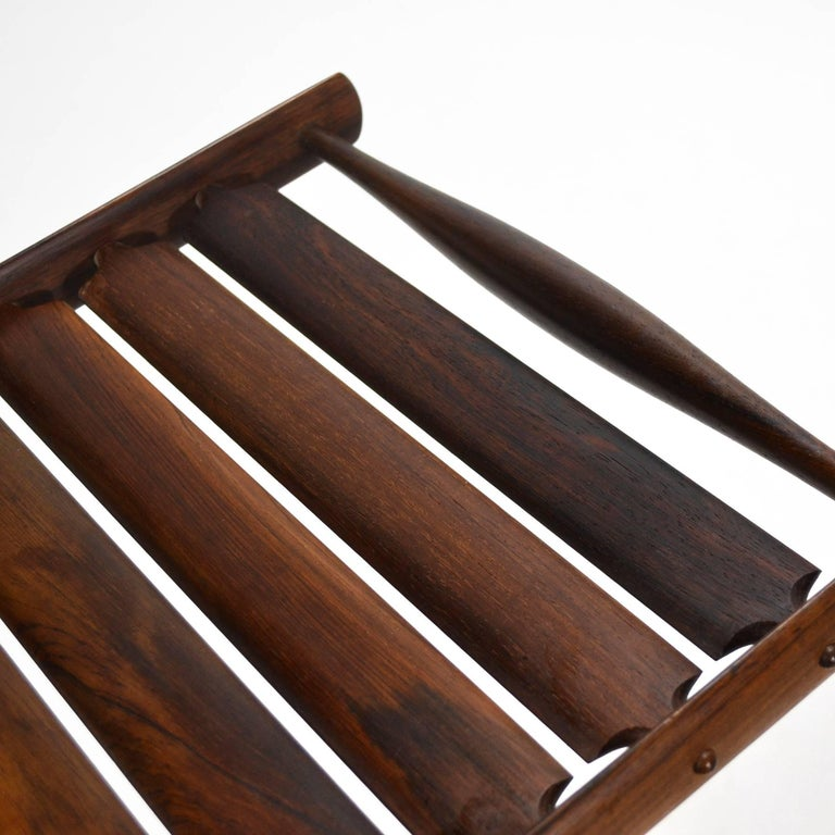 Jens Quistgaard Rosewood Tray by Dansk In Good Condition For Sale In Highland, IN