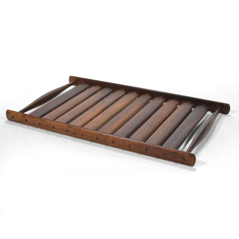 Mid-20th Century Jens Quistgaard Rosewood Tray by Dansk For Sale