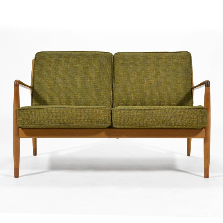 Scandinavian Modern Folke Ohlsson Sofa by DUX For Sale