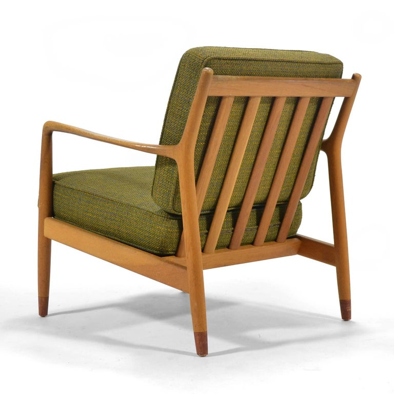 Folke Ohlsson Lounge Chair by DUX In Excellent Condition For Sale In Highland, IN