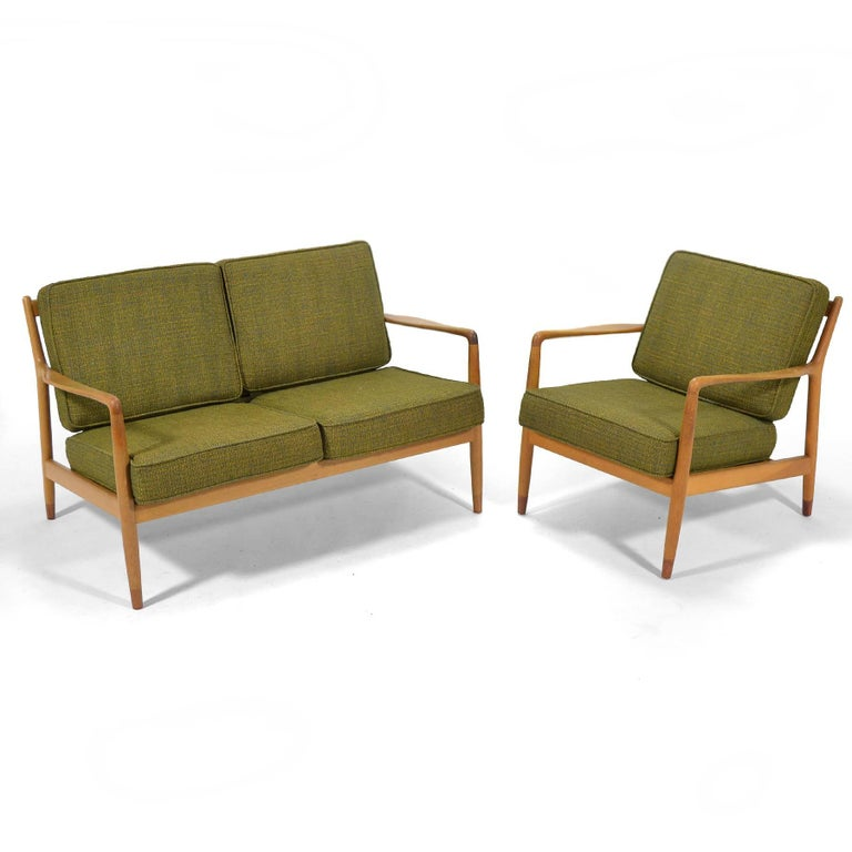 Folke Ohlsson Lounge Chair by DUX For Sale 2