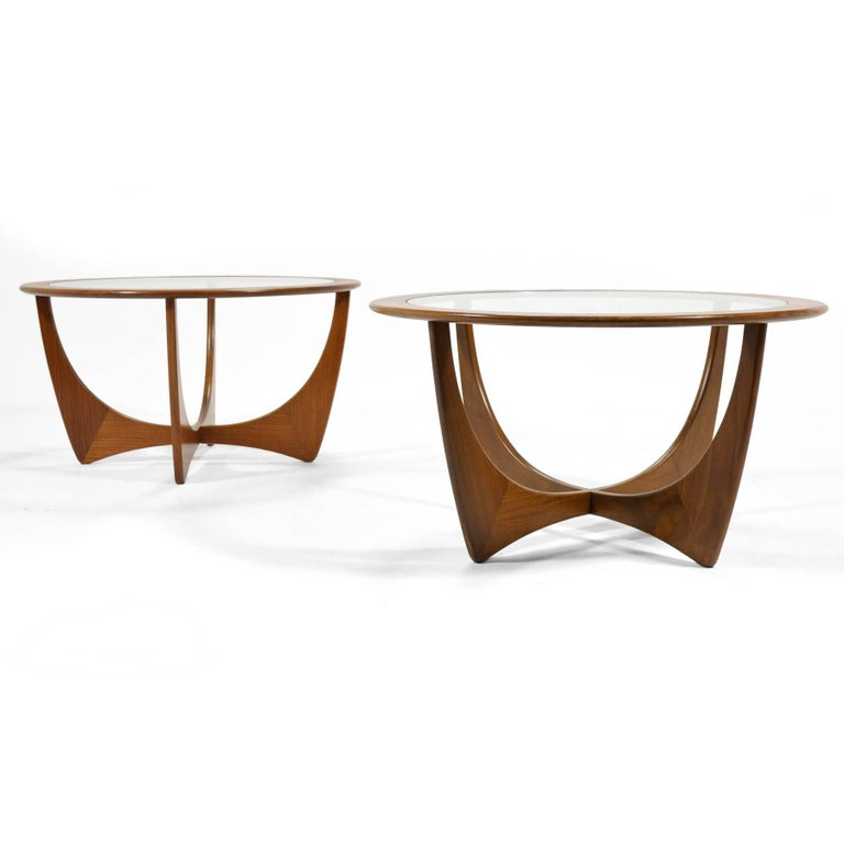Mid-Century Modern Pair of V.B. Wilkins Astro Tables by G-Plan For Sale