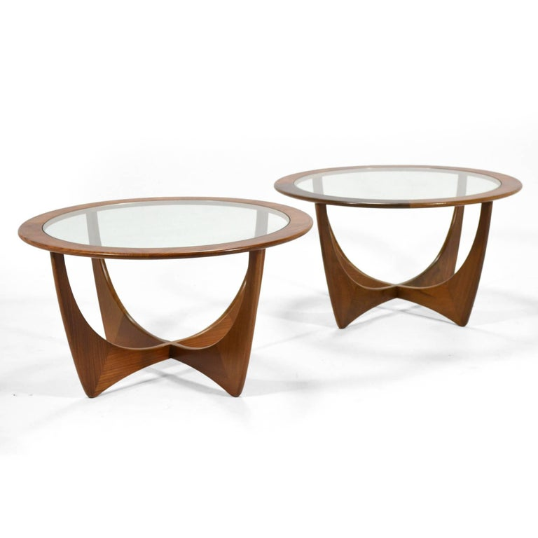 Pair of V.B. Wilkins Astro Tables by G-Plan For Sale 2