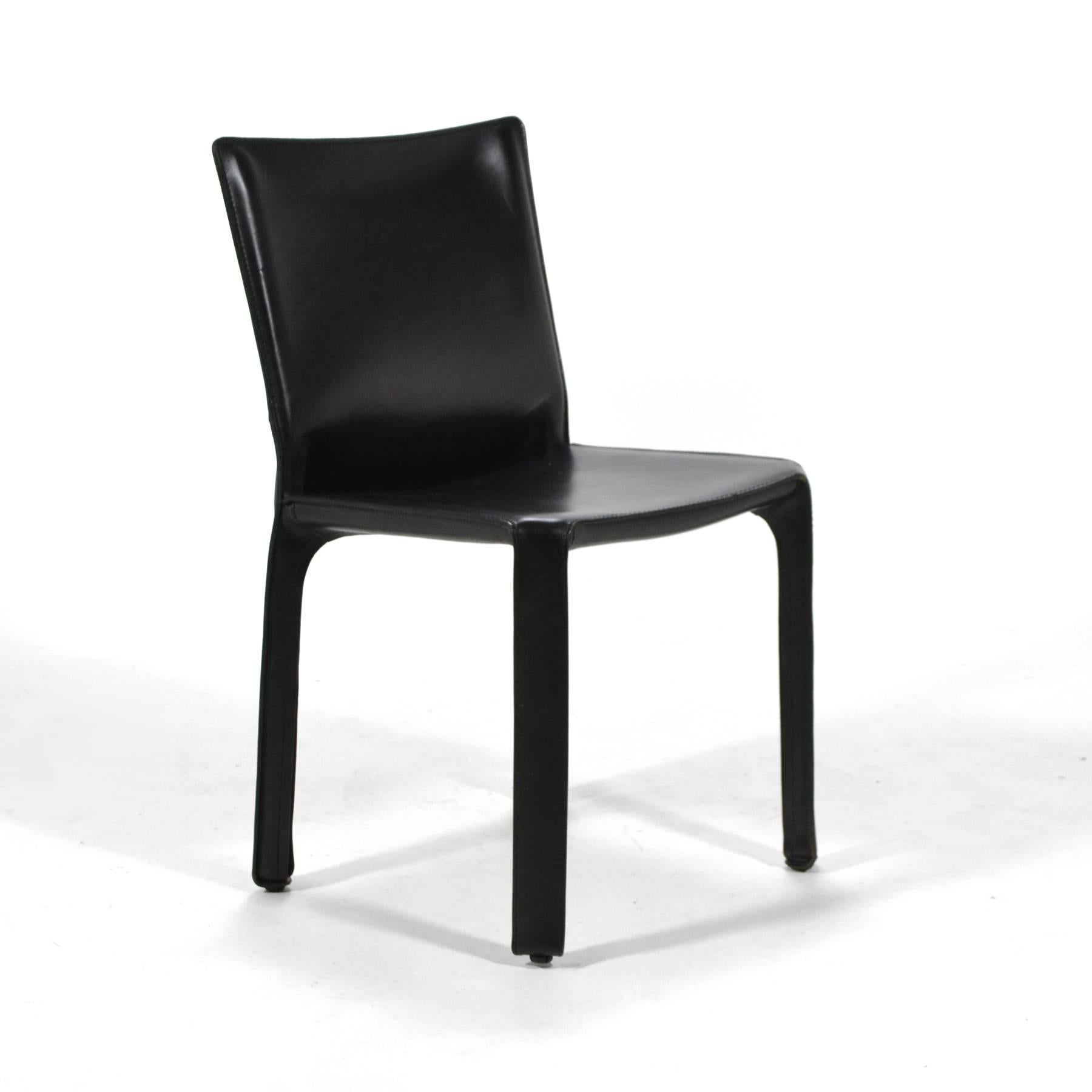 Mario Bellini Set Of Eight Model 412 Cab Chairs By Cassina At 1stdibs