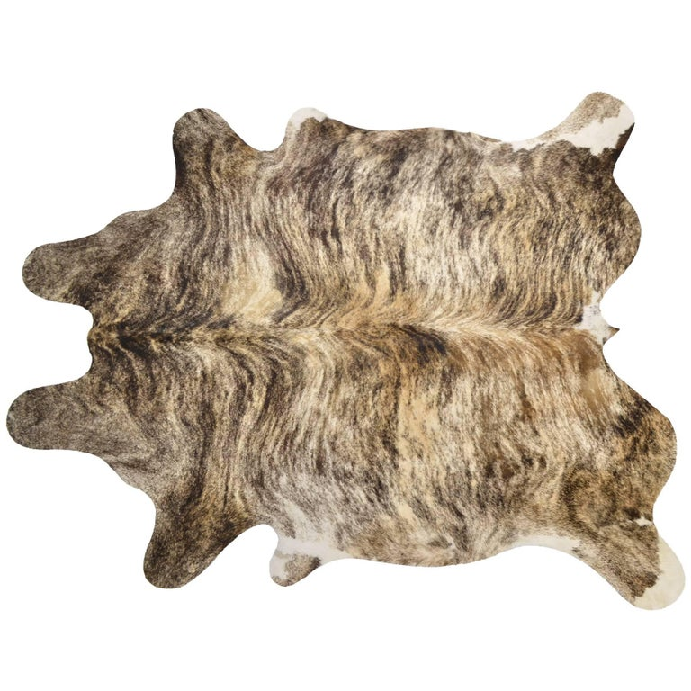 Brindle Cow Hide Rug At 1stdibs