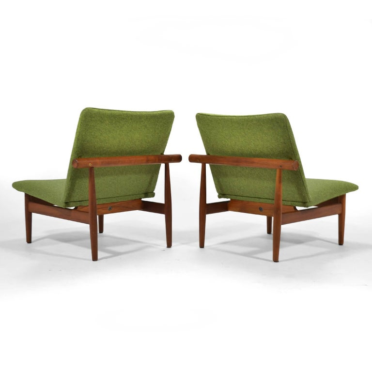 Danish Finn Juhl Pair of Japan Chairs by France & Søn For Sale