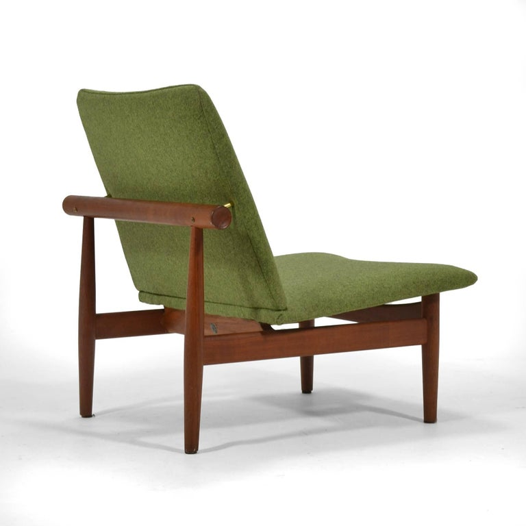 Finn Juhl Pair of Japan Chairs by France & Søn For Sale 1