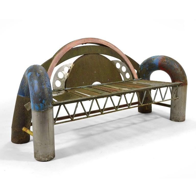 Gordon Chandler Bench Sculpture 2