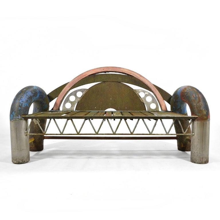 Modern Gordon Chandler Bench Sculpture For Sale