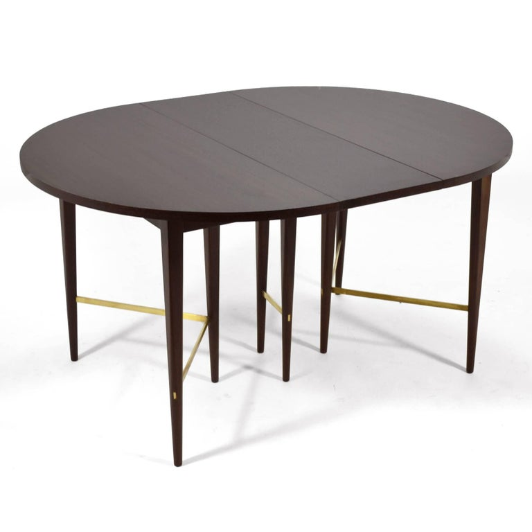 Mid-Century Modern Paul McCobb Extension Dining Table by Calvin For Sale