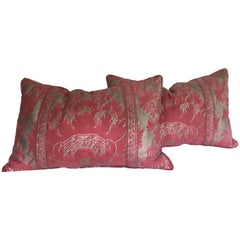 Pair of Rectangular Fortuny Cushions