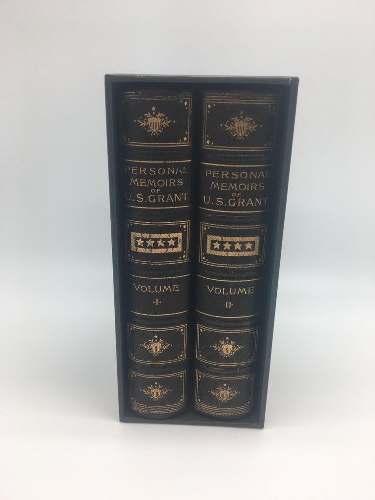 Personal Memoirs of U.S. Grant, Special 2-Volume First Edition, 1885-1886 In Good Condition For Sale In Colorado Springs, CO