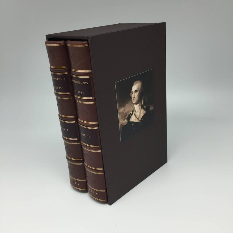 Washington S Letters To Congress Rare First American Edition Two Volumes 1795 At 1stdibs