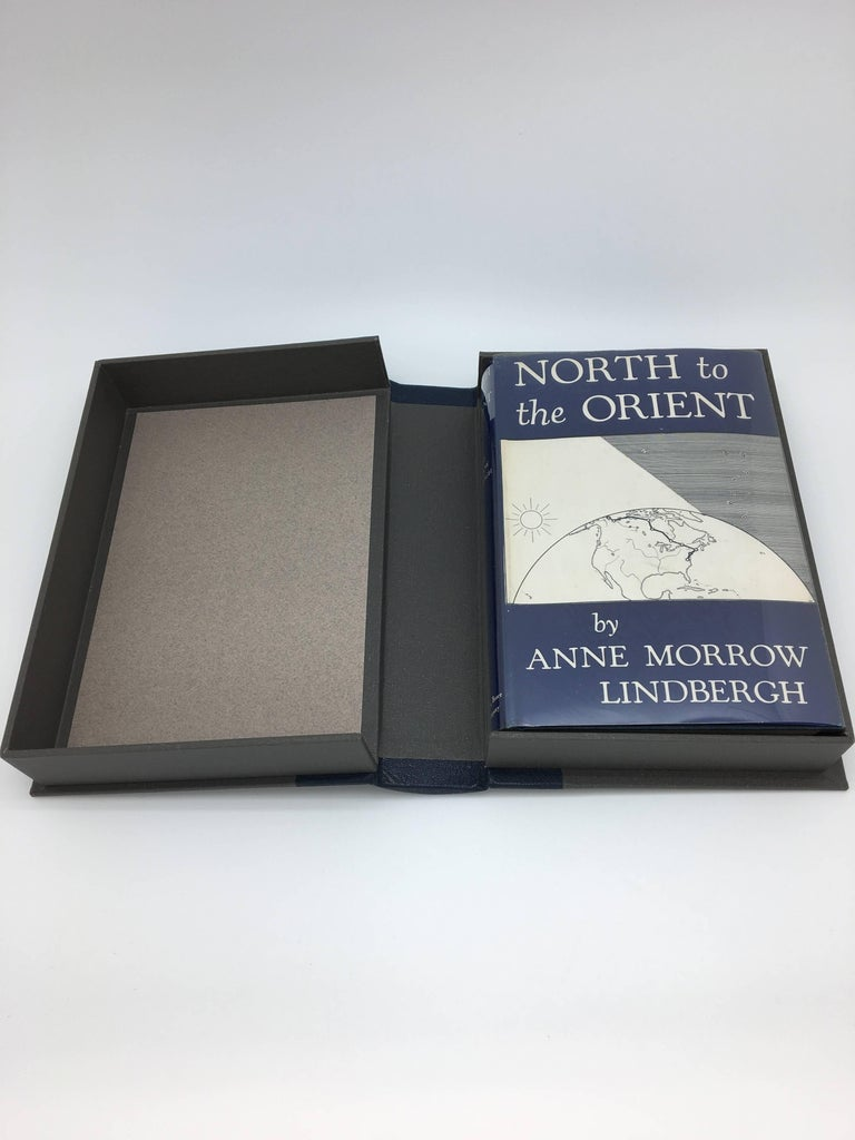 North to the Orient, 1st Edition, Signed by Charles & Anne-Morrow Lindbergh In Excellent Condition For Sale In Colorado Springs, CO