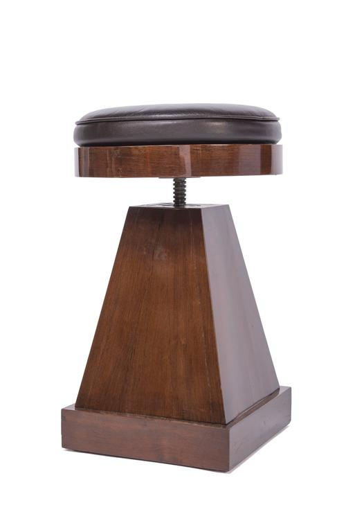 French Adjustable Stool For Sale At 1stdibs