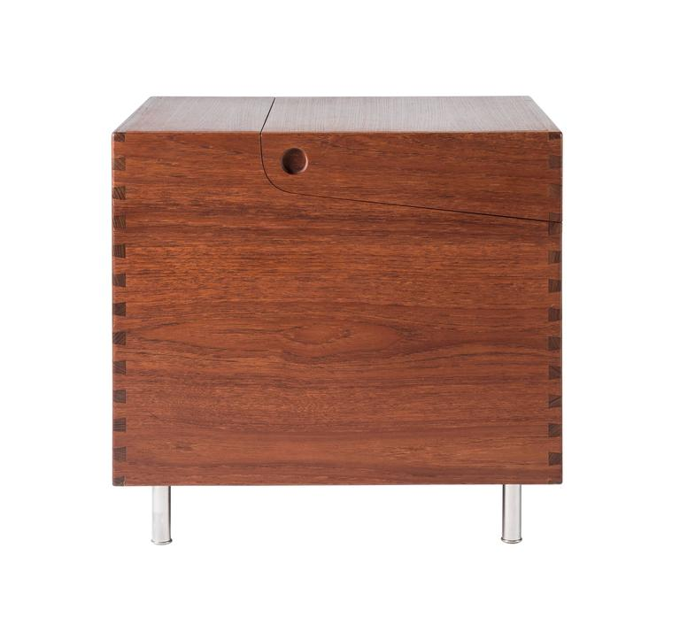 Danish  Hans Wegner Cube Bar for Andreas Tuck For Sale