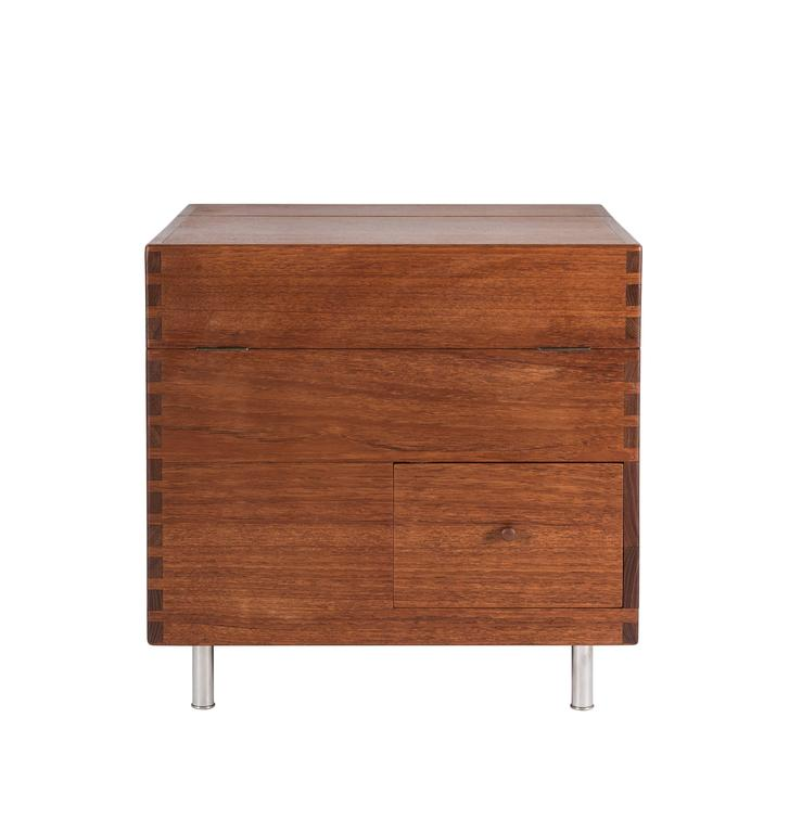Mid-20th Century  Hans Wegner Cube Bar for Andreas Tuck For Sale