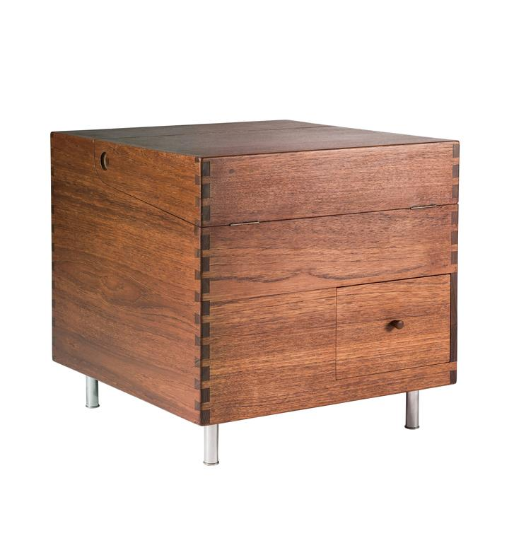 Hans Wegner Cube Bar for Andreas Tuck For Sale