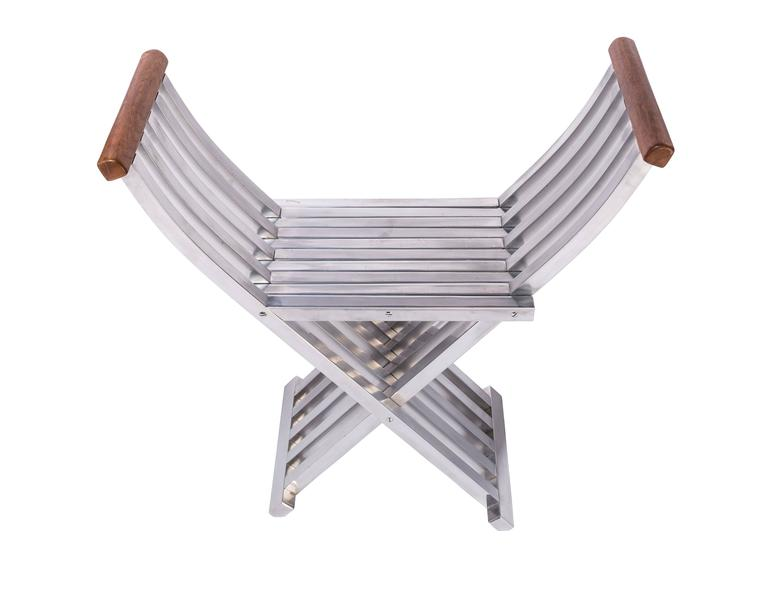 Pair of Folding Benches - Stools by John Vesey 7