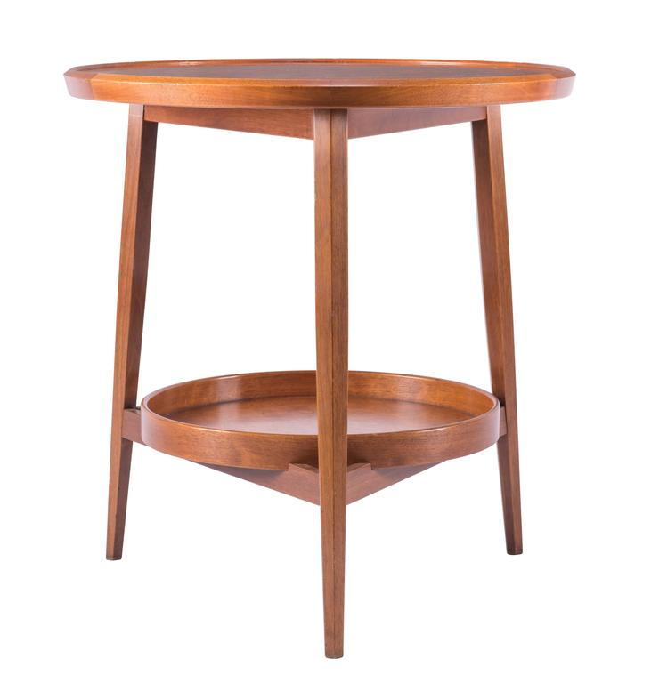 American Wormley for Dunbar Table with Removable Tray