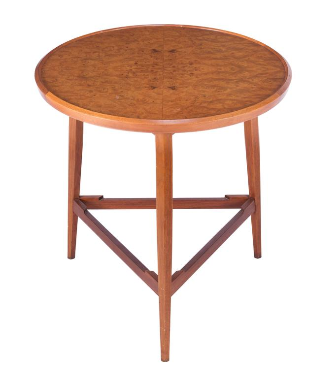 Mid-20th Century Wormley for Dunbar Table with Removable Tray