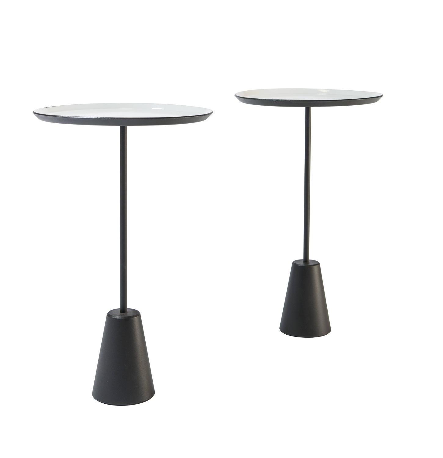 Pair Of White Tom Dixon Quot Spot Quot Tables For Sale At 1stdibs