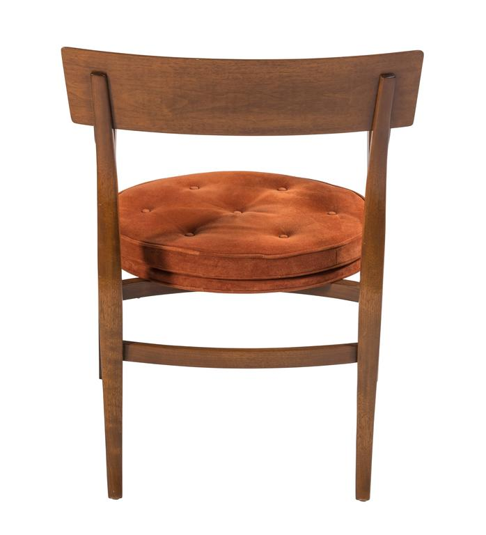 Pair of Dunbar Alexandria Chairs by Edward Wormley For Sale 1