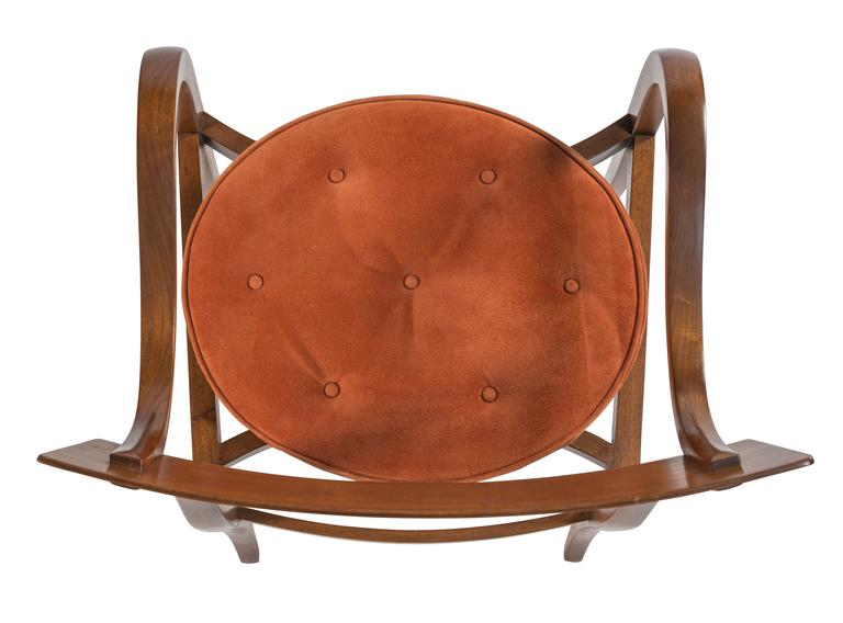 Pair of Dunbar Alexandria Chairs by Edward Wormley For Sale 2