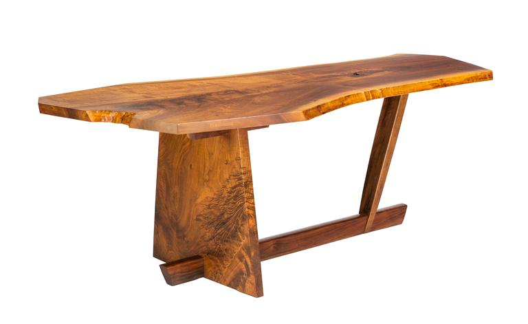 Important George Nakashima Conoid Desk and Chair In Excellent Condition In Pawtucket, RI