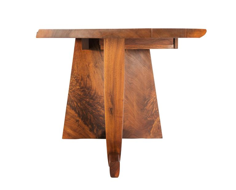 North American Important George Nakashima Conoid Desk and Chair