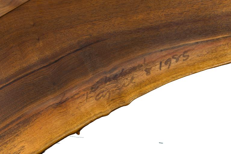 Important George Nakashima Conoid Desk and Chair 3