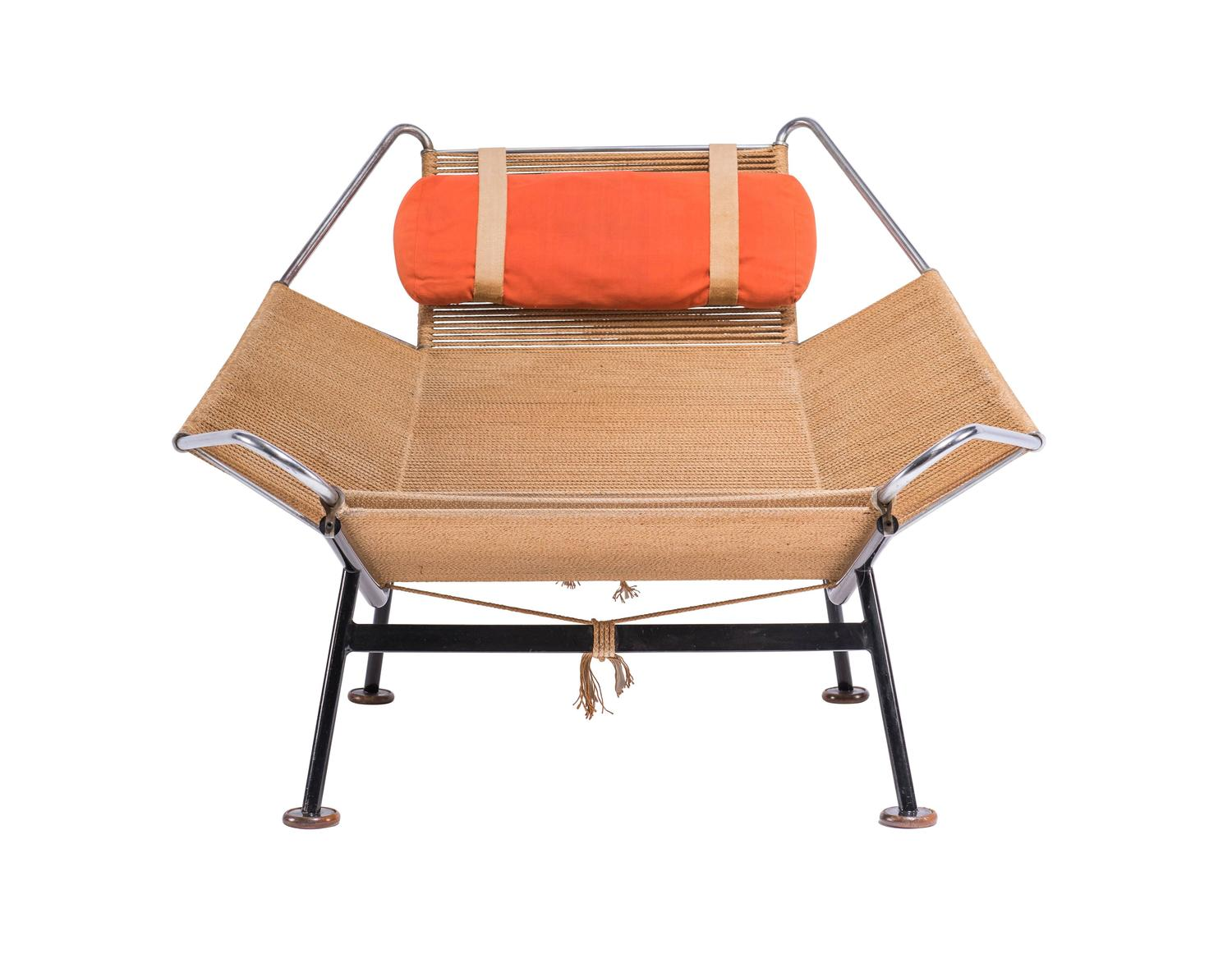 Flag Halyard Chair by Hans Wegner for GETAMA For Sale at