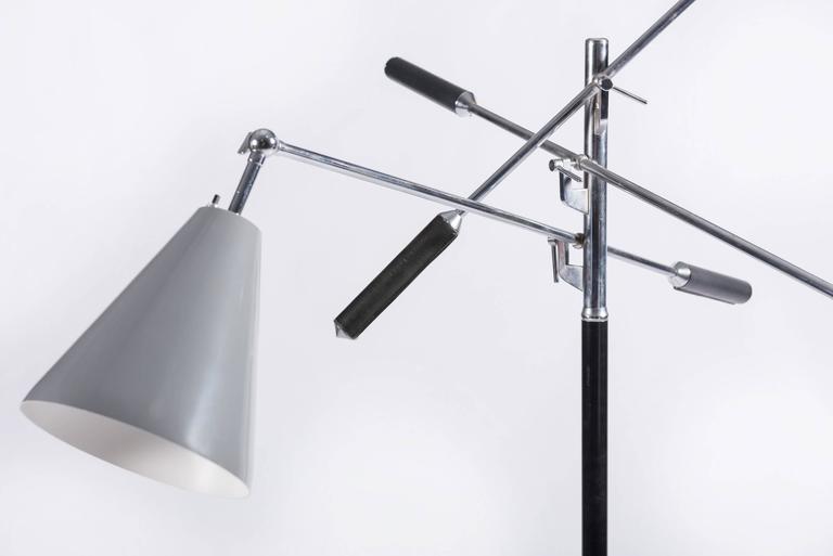Mid-20th Century Italian Triennale Floor Lamp For Sale